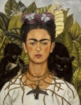 Frida Kahlo, Thorn Necklace and Humming Bird, 1940